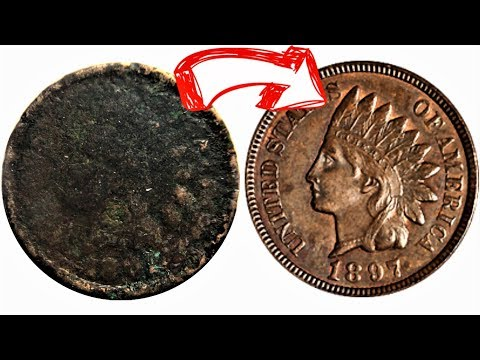 CRAZY OLD PENNY FOUND LIVE ON CAMERA! COIN ROLL HUNTING PENNIES INCREDIBLE OLD COIN FOUND!