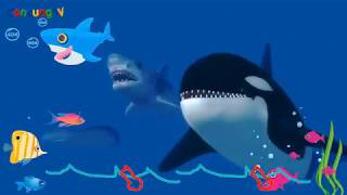 Bé Cá Mập Baby Shark 🦈 Baby Shark Remix   Nhạc Thiếu Nhi Tiếng Anh   ConcungTV
