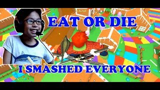 ROBLOX EAT OR DIE: BEN SMASHED EVERYONE WHEN HE WAS A CHUB - LET'S PLAY WITH BEN