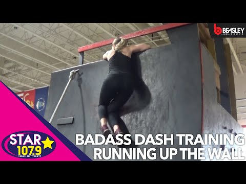 BADASS Dash Training with Aimee: How to run up a wall