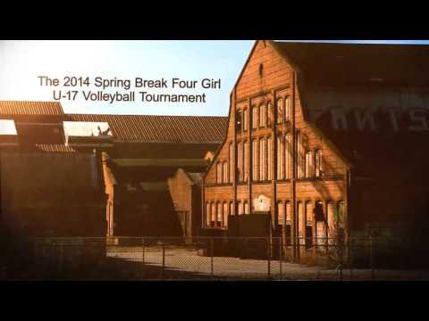 VolleyBragSwag Spring Break 4 Girl Volleyball Tournament promo
