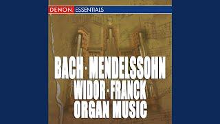 Sonata for Organ No. 4 in B Major, Op. 65 B-Dur: Allegretto