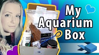 Unboxing #MyAquariumBox | FISHKEEPING SUPPLIES | Freshwater Fish Monthly Subscription Box REVIEW thumbnail