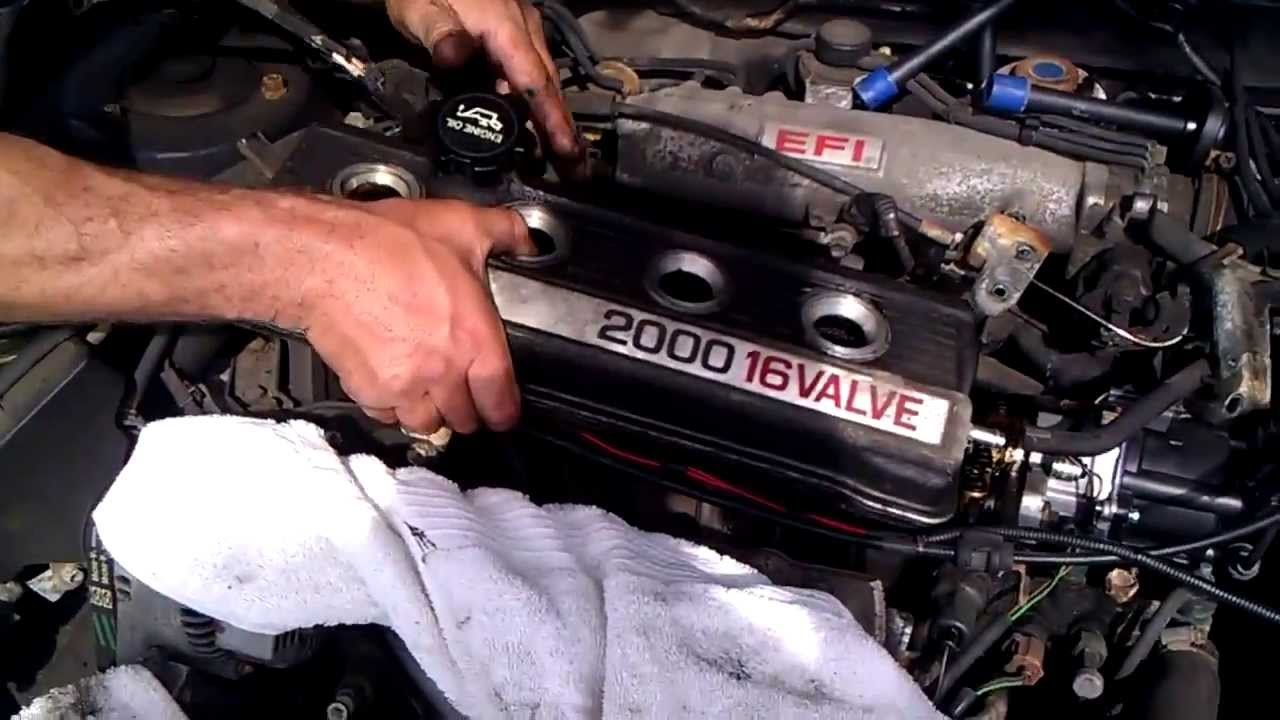 How To Install Replace A Valve Cover Gasket On A 1989