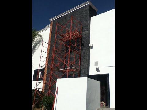 Decoracion exterior con paneles decorativos decomuro youtube - Paneles decorativos exterior ...