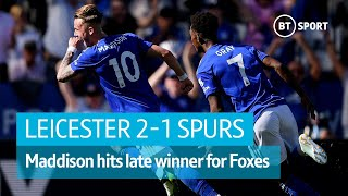 Leicester vs Tottenham (2-1) | Premier League Highlights