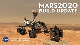 Mars 2020 Rover Build - Inside the Clean Room
