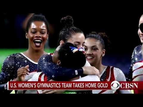 USA women's gymnastics team takes home gold x4o3rxv