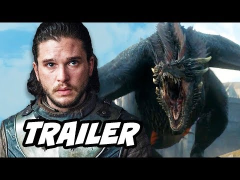 Game Of Thrones Season 8 Trailer - Jon Snow Dragons And Deleted Scenes Breakdown
