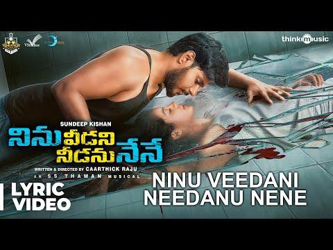 Ninu Veedani Needanu Nene Movie Telugu Songs Lyrics