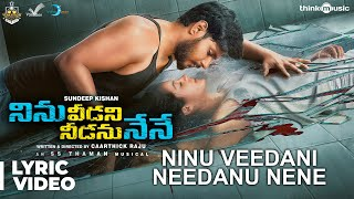 Ninu Veedani Needanu Nene Movie Telugu Songs Lyrics