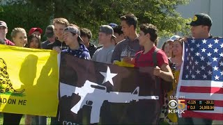 Bay Area Students Walk Out To Support 2nd Amendment, Gun Rights