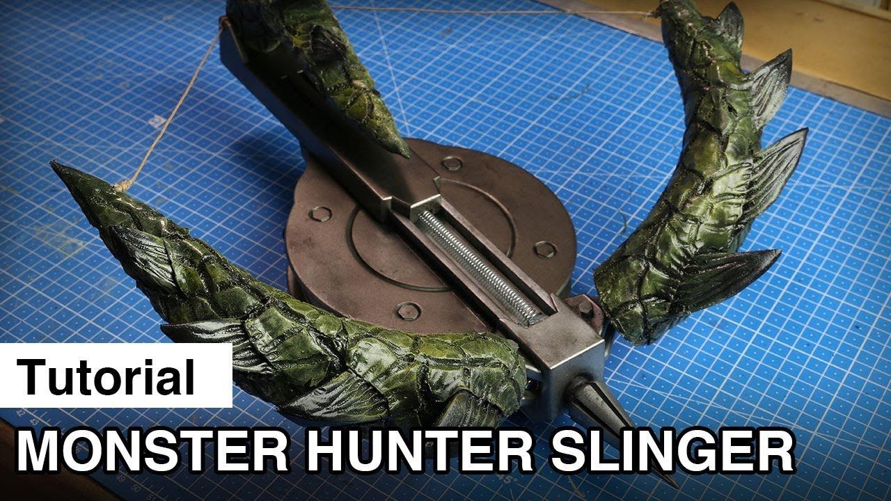 Fully Functional 3d Printed Slinger Monster Hunter World Cosplay