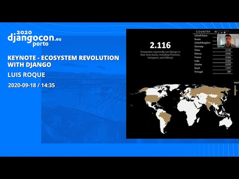 Image from KEYNOTE: Ecosystem Revolution with Django - Luis Roque