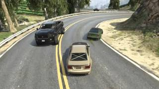 GTA V: Drift GTA Touge Series#4:  Azer & Ib3n1nja