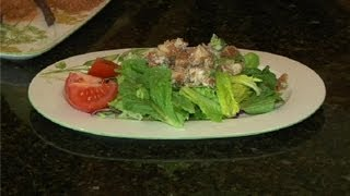 Cajun Fried Chicken Salad : Creole Cooking
