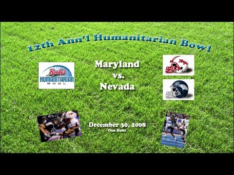2008 Humanitarian Bowl (Maryland v Nevada) One Hour