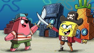 Minecraft Spongebob - PATRICK AND SPONGEBOB BECOME PIRATES!