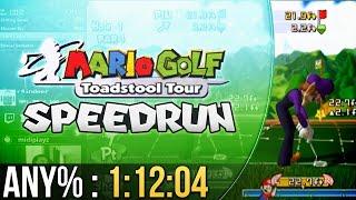 Mario Golf: Toadstool Tour Any% Speedrun 1:12:04