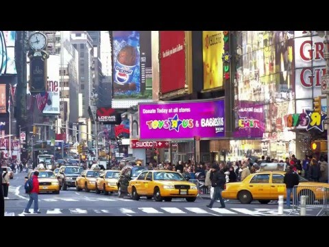 New York City NYC Manhattan Big Apple USA Gotham Borough HiDef Video with a Stereo Sound