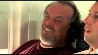 Управление гневом - эпизод в самолёте