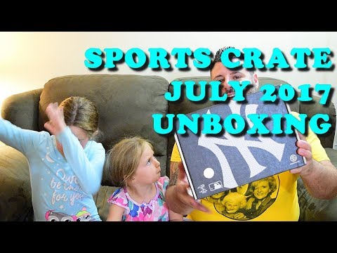 Sports Crate Unboxing :: July 2017 :: New York Yankees