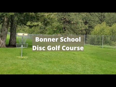 Bonner School Disc Golf Course - In Bonner Montana