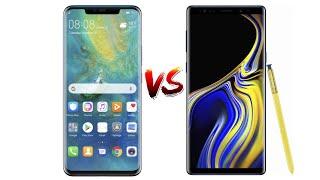 Huawei Mate 20 Pro vs Samsung Galaxy Note 9 - AnTuTu Benchmark!