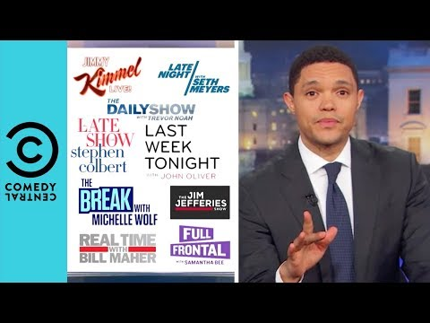 "How Many ""Trump Hating"" Late Night Talk Show Hosts Are There? 