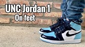 Cop Or Not Air Jordan 1 Unc Patent Blue Chill Review And On Foot