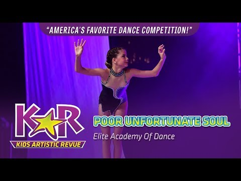 """""""Poor Unfortunate Soul"""" from Elite Academy Of Dance"""