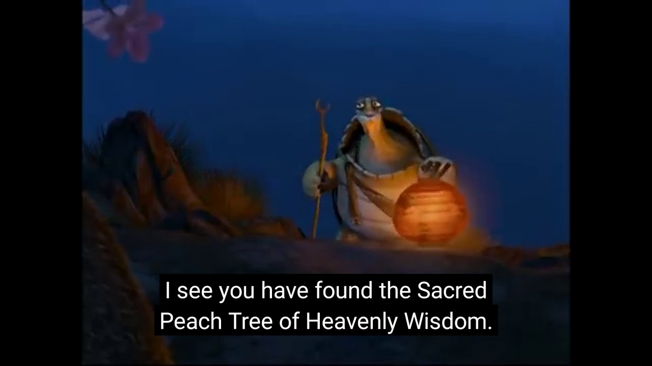 Oogway Quote Kung Fu Panda 1 Youtube