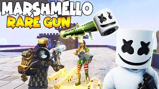 Raging Scammer Has *NEW* MARSHMELLO GUN! (Scammer Gets Scammed) Fortnite Save The World