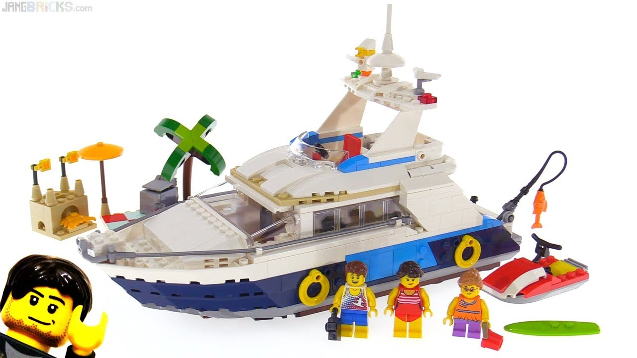 Lego Creator Cruising Adventures 3 In 1 Review 31083 Youtube
