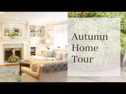 Autumn Home Tour  ||  2018 || Elegant Fall, No Orange ♡ MissJustinaMarie