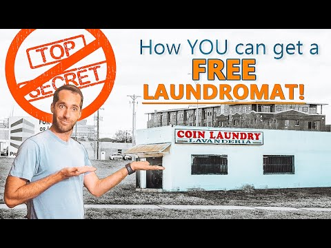 How to Get a Free Laundromat! The [SHADY] secret is exposed!