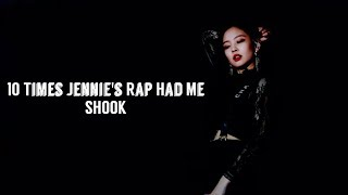 10 Time Jennie Kim's Rapping Skills Had Me SHOOK
