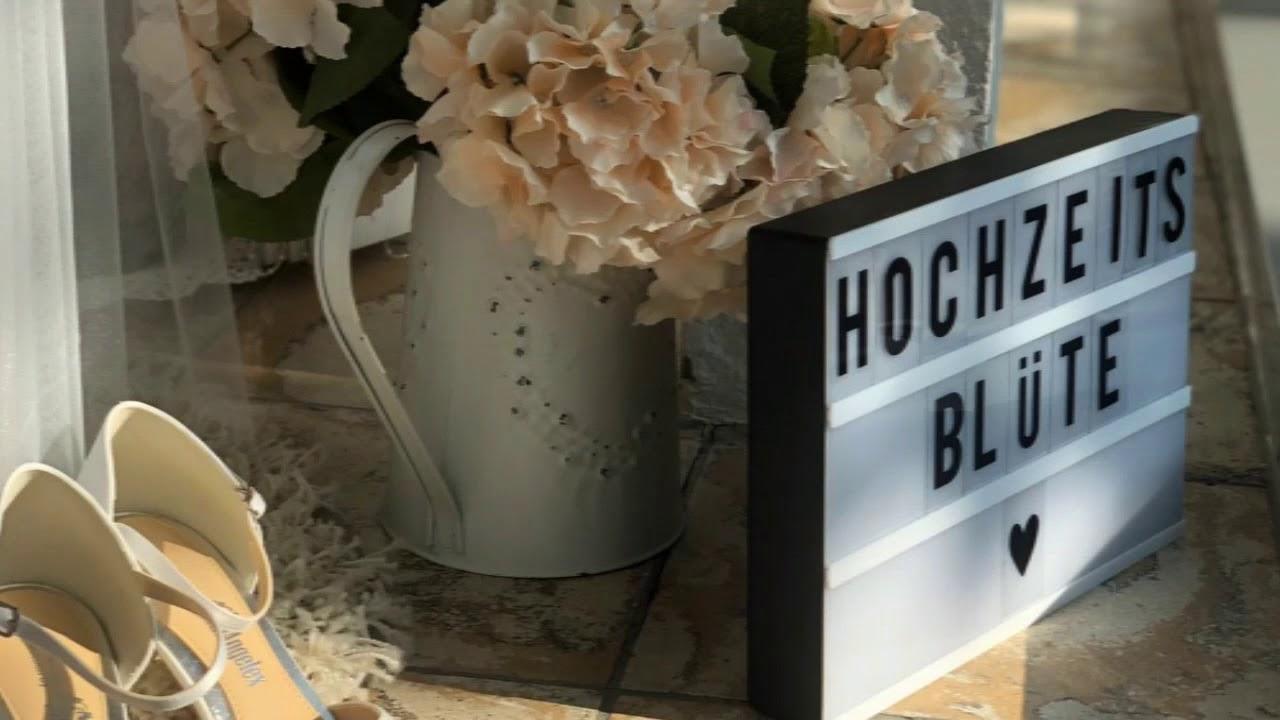 hochzeitsblüte der brautladen ravensburg - youtube
