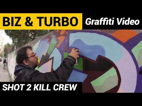 Biz & Turbo - Graffiti Video - istanbul
