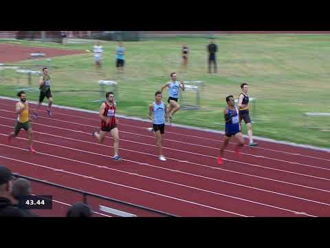 HVC 18.01.2019: Men 400m A race.
