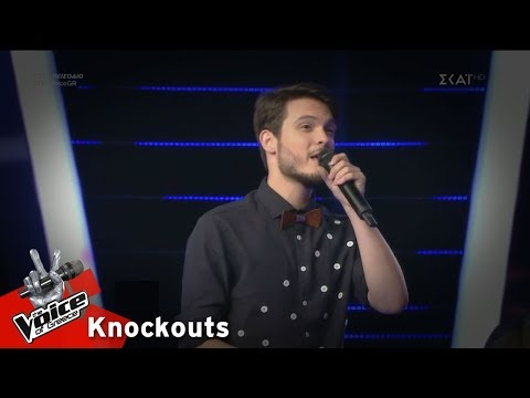 Οδυσσέας Αλεξανδρίδης - Death of a Bachelor | 2o Knockout | The Voice of Greece