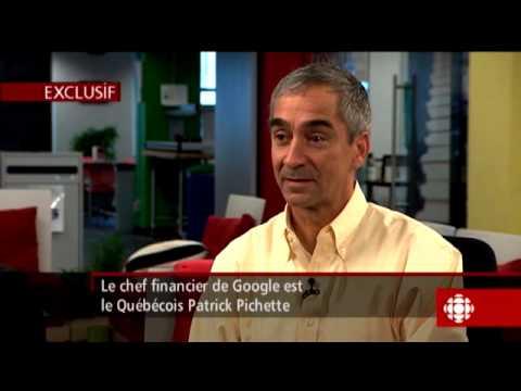 Gérald Fillion - Patrick Pichette, chef de la direction financière de Google