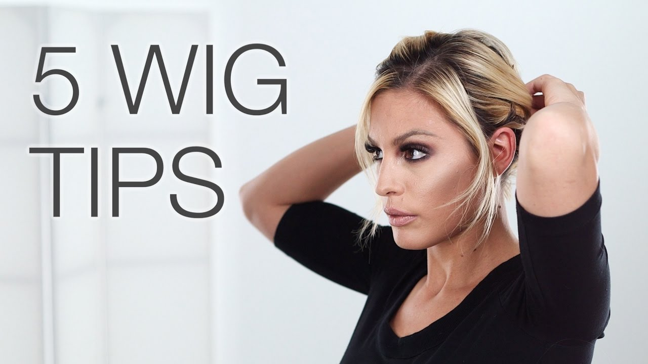 7c740229490 5 Wig Tips for a Completely Natural Look - YouTube