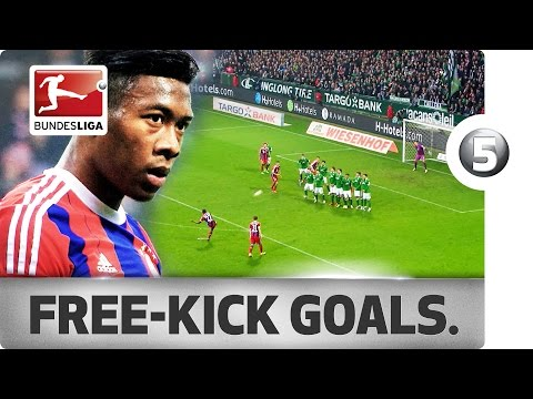 David Alaba - All His Bayern Free-Kick Goals