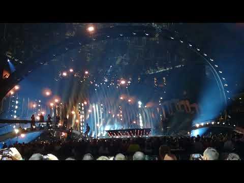 Eurovision 2018 Austria Cesár Sampson - Nobody But You ( First semi-final jury show )