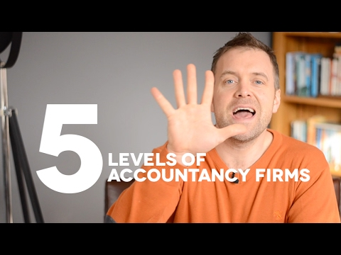 The 5 Levels Of Accountancy Firms. Which One Are You?