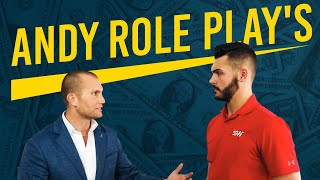 Car Sales Training: ANDY ROLE PLAYS WITH SALESMAN WHO MADE $16,000 LAST MONTH! MUST WATCH!