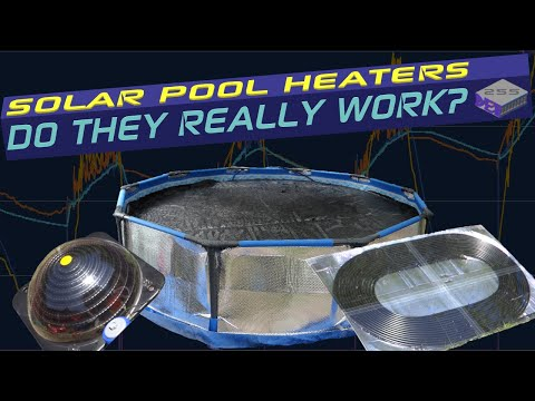 3. How effective are Solar Pool Heaters really? – Results of full test