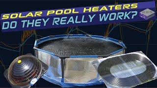 Solar Pool Heaters - Results of full test - How effective are they really? - Part 3