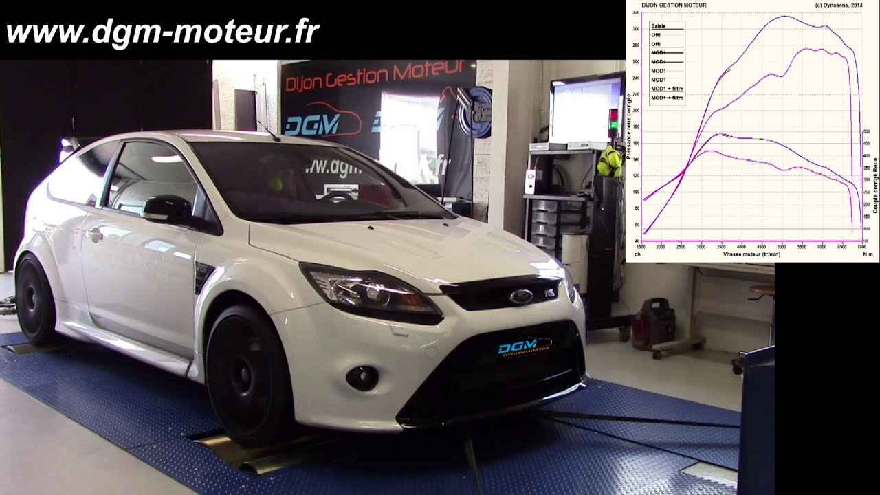 reprogrammation ford focus rs 2 5t dijon gestion moteur youtube. Black Bedroom Furniture Sets. Home Design Ideas